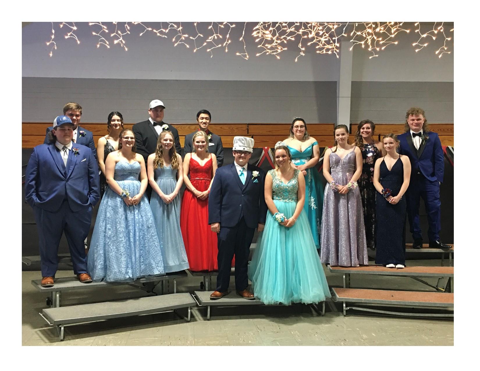 Weston's junior prom court 2021