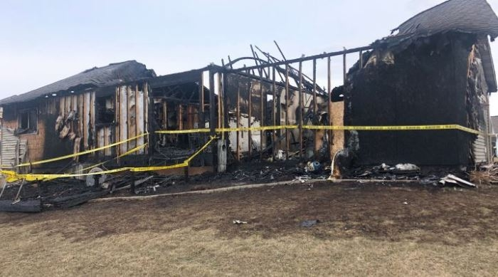 A home was destroyed early Monday morning in Reedsburg.The fire broke out in the house on Dessa Rain Road.Details of the blaze were not available...